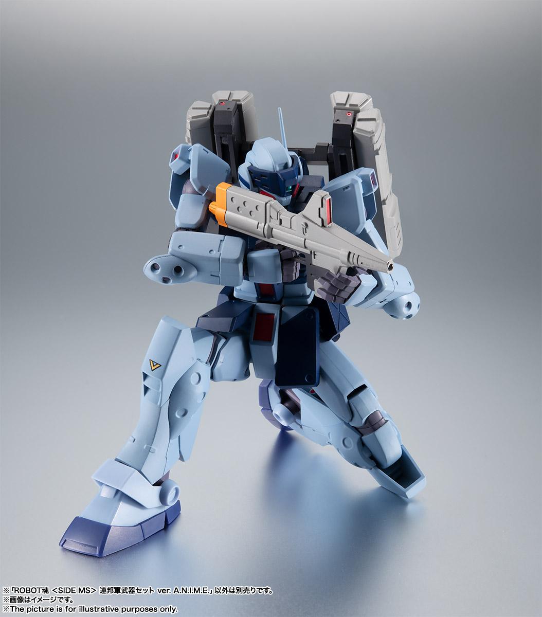 ROBOT魂〈SIDE MS〉『連邦軍武器セット ver. A.N.I.M.E.』ガンダム 完成品フィギュア-017