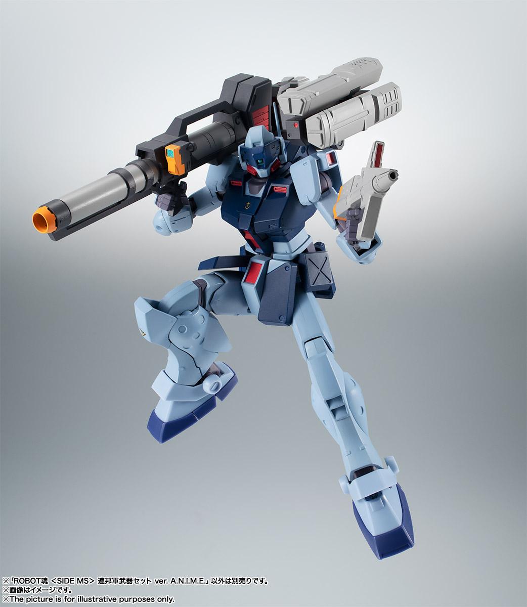ROBOT魂〈SIDE MS〉『連邦軍武器セット ver. A.N.I.M.E.』ガンダム 完成品フィギュア-018