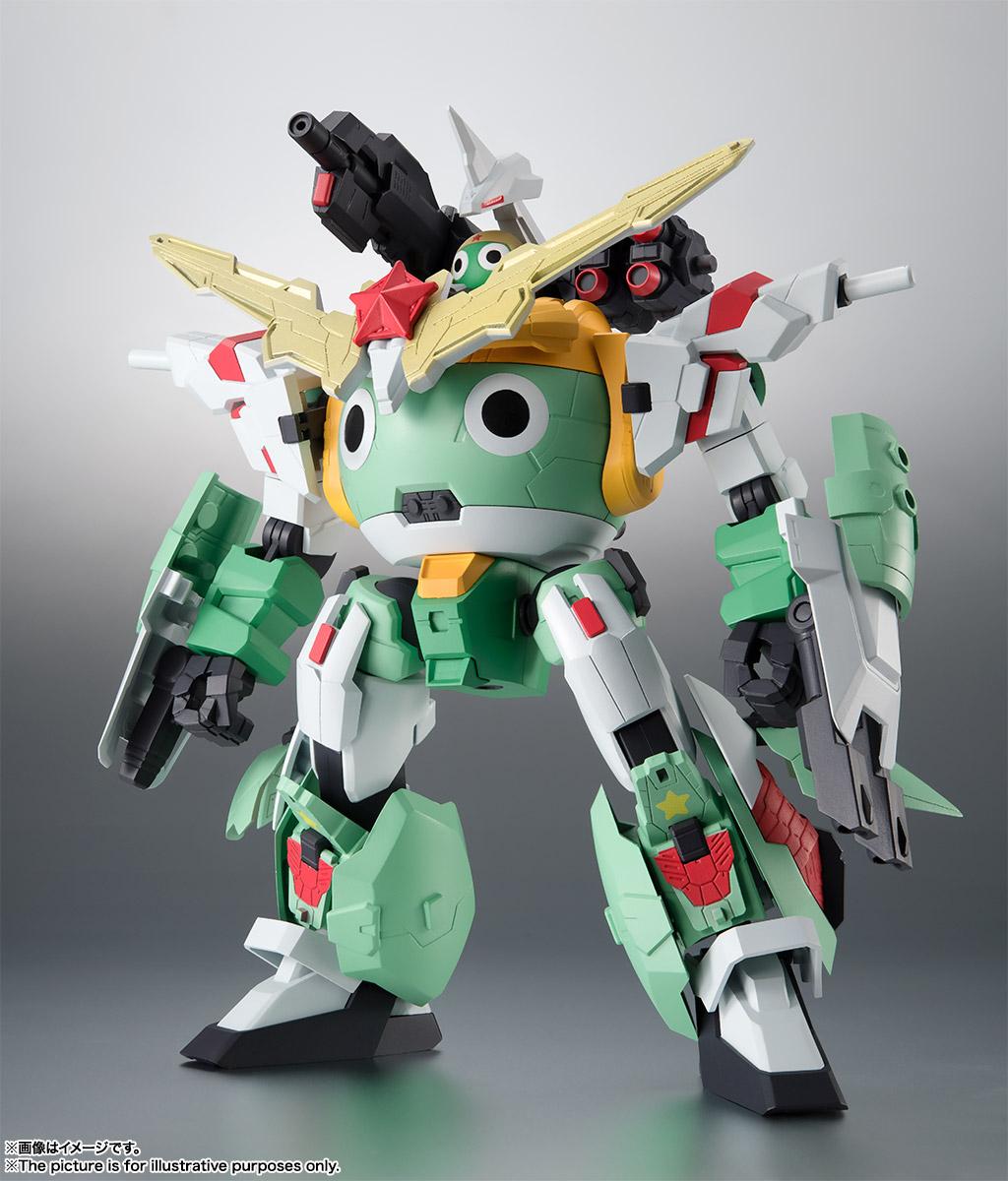 KERORO魂『ケロロロボUC』ケロロ軍曹 可動フィギュア-004