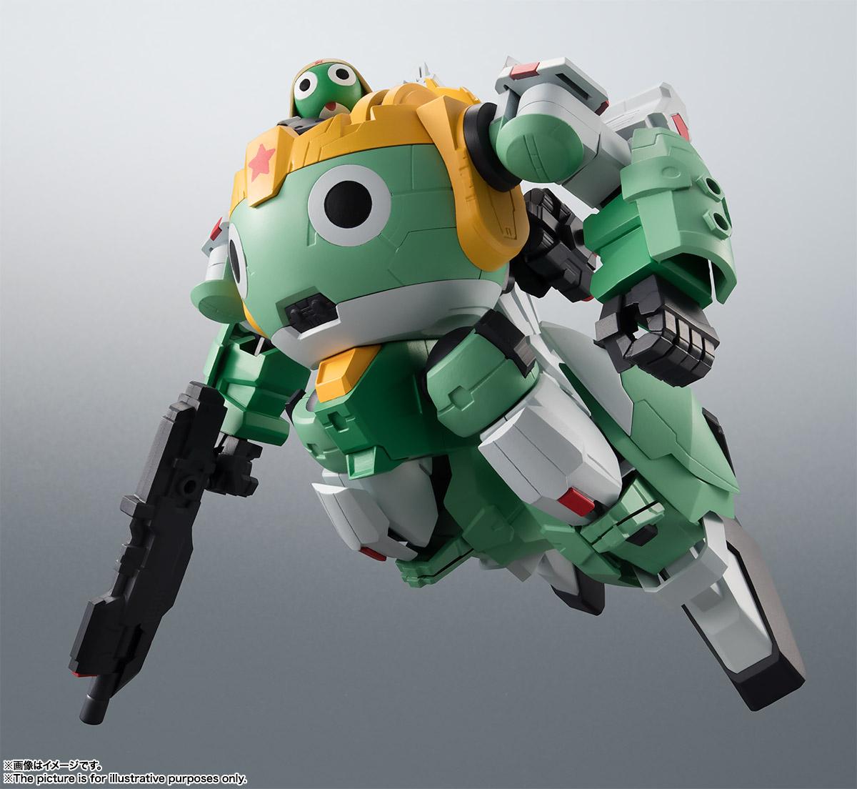 KERORO魂『ケロロロボUC』ケロロ軍曹 可動フィギュア-005