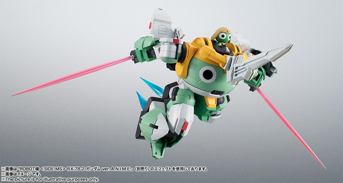 KERORO魂『ケロロロボUC』ケロロ軍曹 可動フィギュア-012