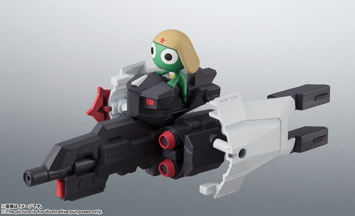 KERORO魂『ケロロロボUC』ケロロ軍曹 可動フィギュア-020