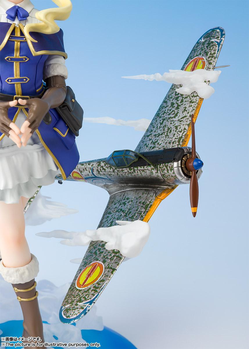 フィギュアーツZERO『エンマ』荒野のコトブキ飛行隊 完成品フィギュア-004