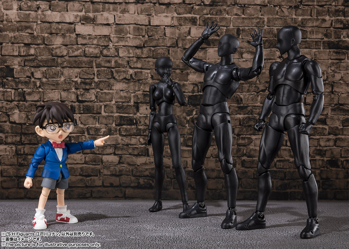 S.H.フィギュアーツ『江戸川コナン』名探偵コナン 可動フィギュア-011