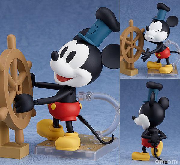 ねんどろいど『蒸気船ウィリー ミッキーマウス 1928 Ver.(カラー)』可動フィギュア