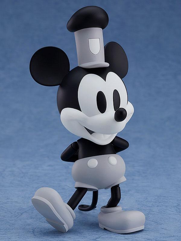 ねんどろいど『蒸気船ウィリー ミッキーマウス 1928 Ver.(シロクロ)』可動フィギュア-004