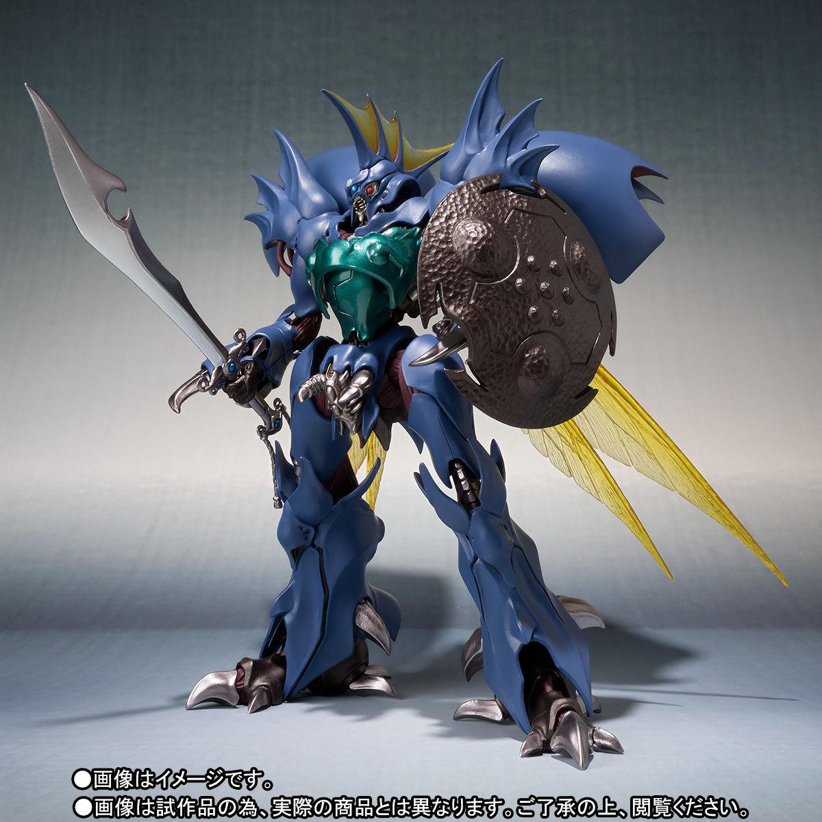 ROBOT魂〈SIDE AB〉『ギトール』聖戦士ダンバイン 可動フィギュア 可動フィギュア-002