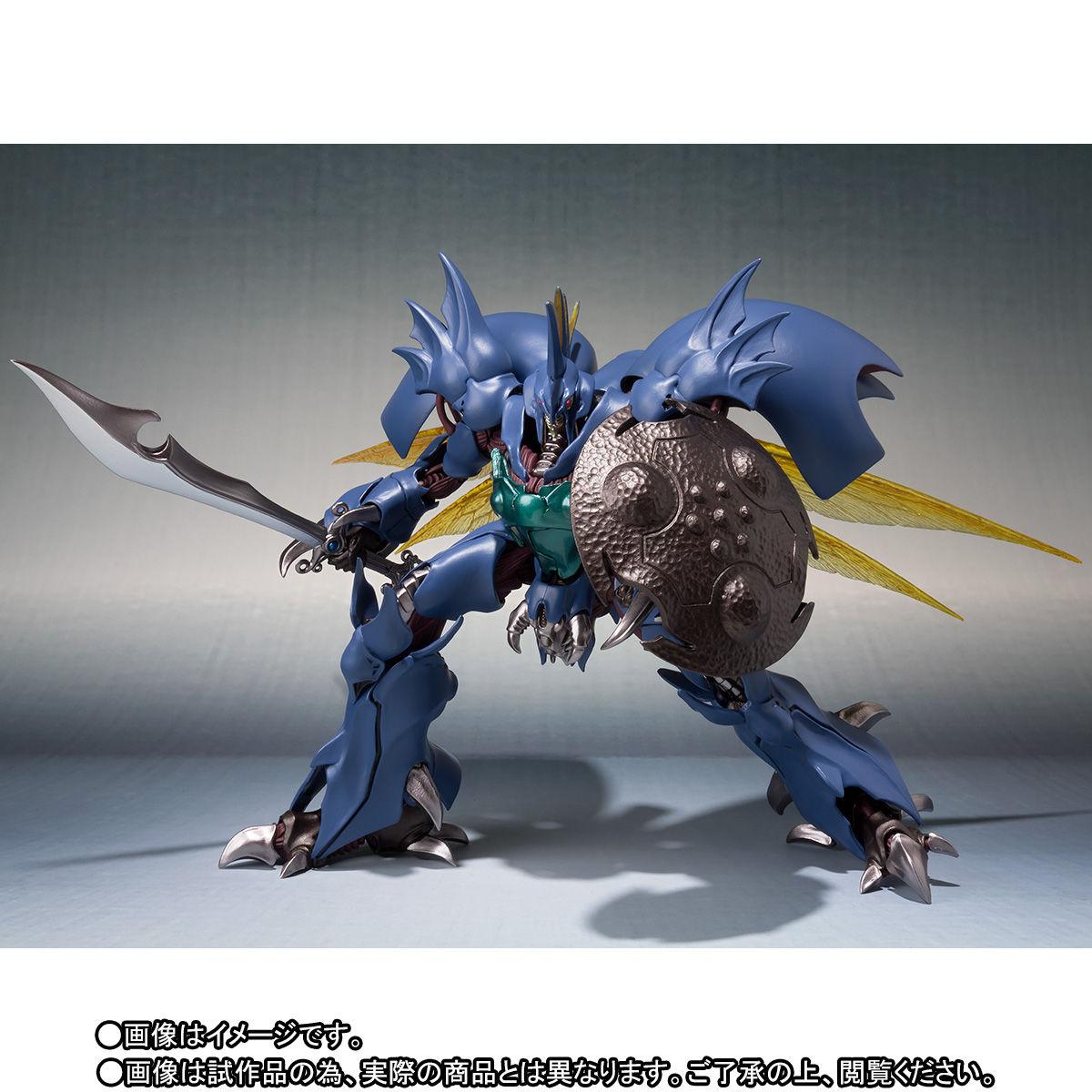 ROBOT魂〈SIDE AB〉『ギトール』聖戦士ダンバイン 可動フィギュア-004