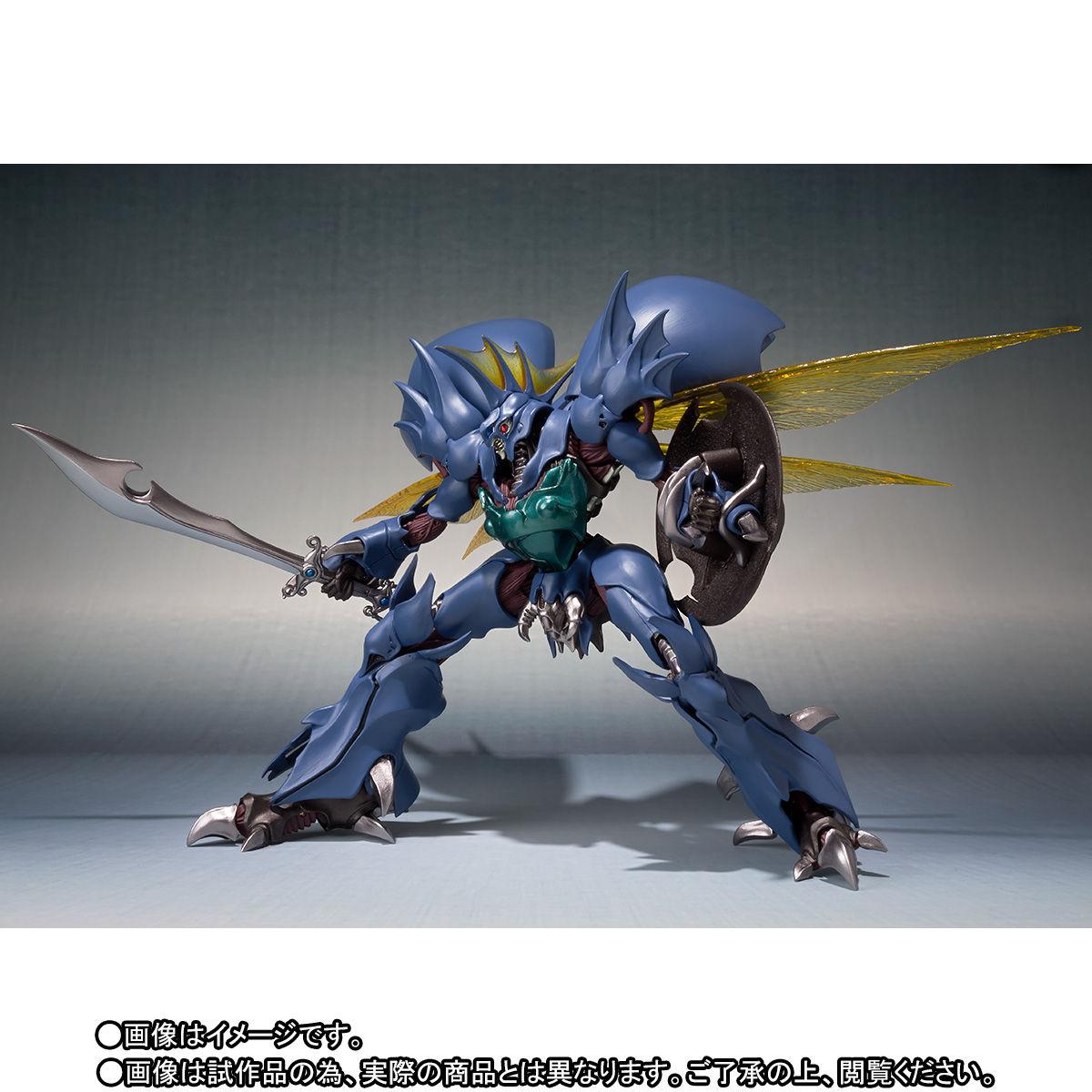 ROBOT魂〈SIDE AB〉『ギトール』聖戦士ダンバイン 可動フィギュア-005