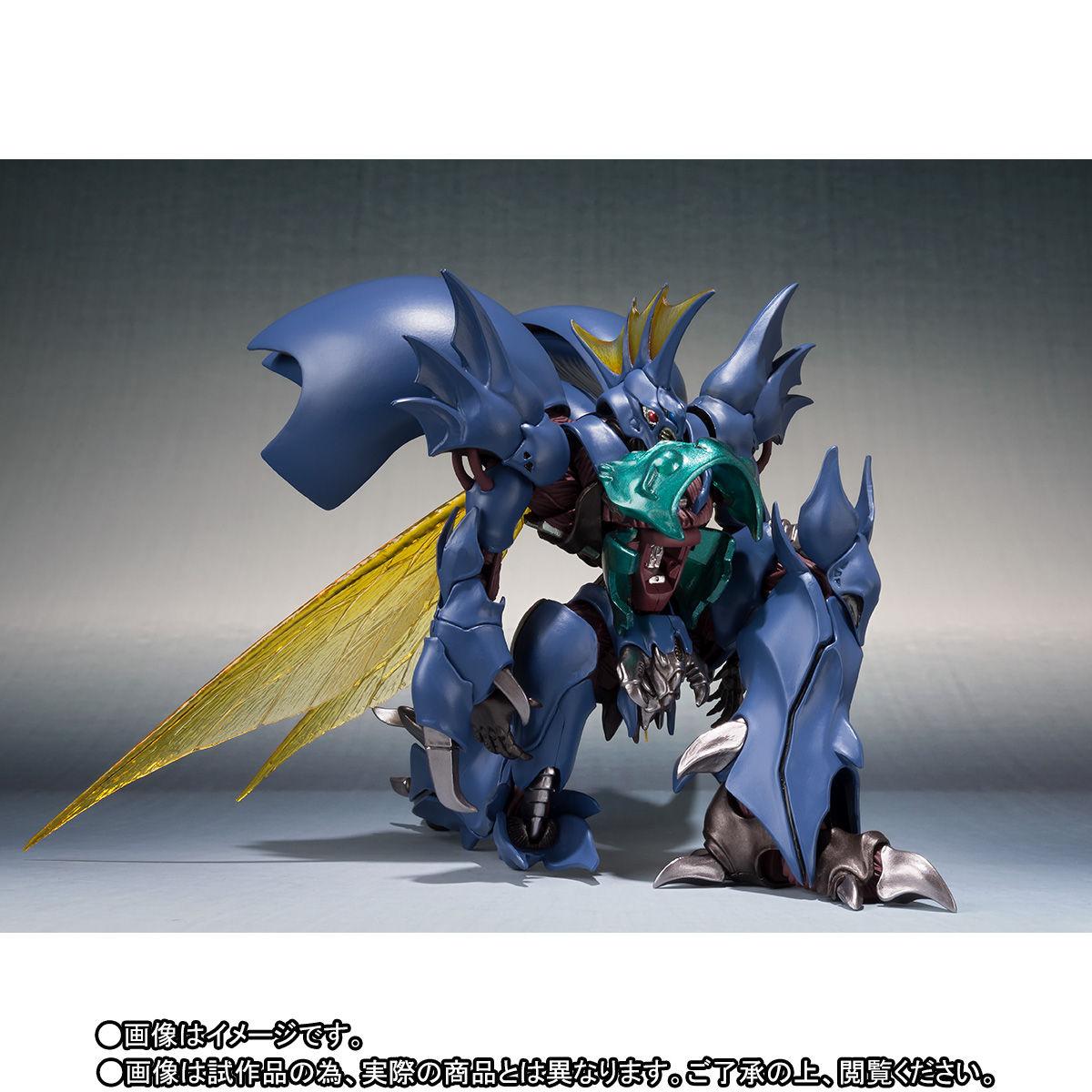 ROBOT魂〈SIDE AB〉『ギトール』聖戦士ダンバイン 可動フィギュア-006