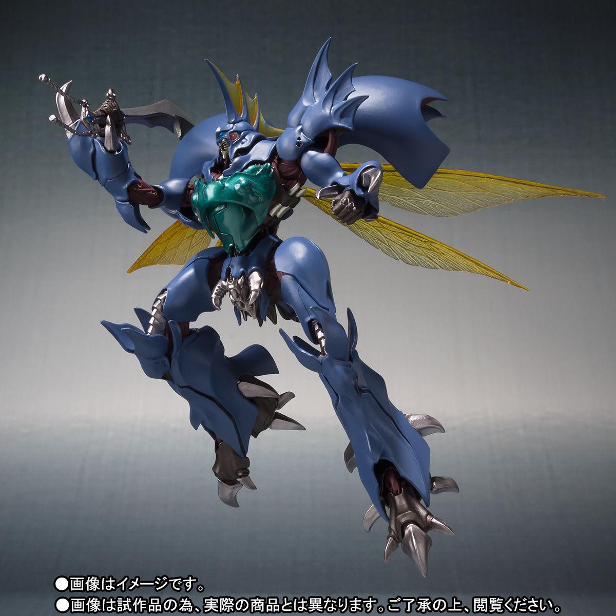 ROBOT魂〈SIDE AB〉『ギトール』聖戦士ダンバイン 可動フィギュア-009