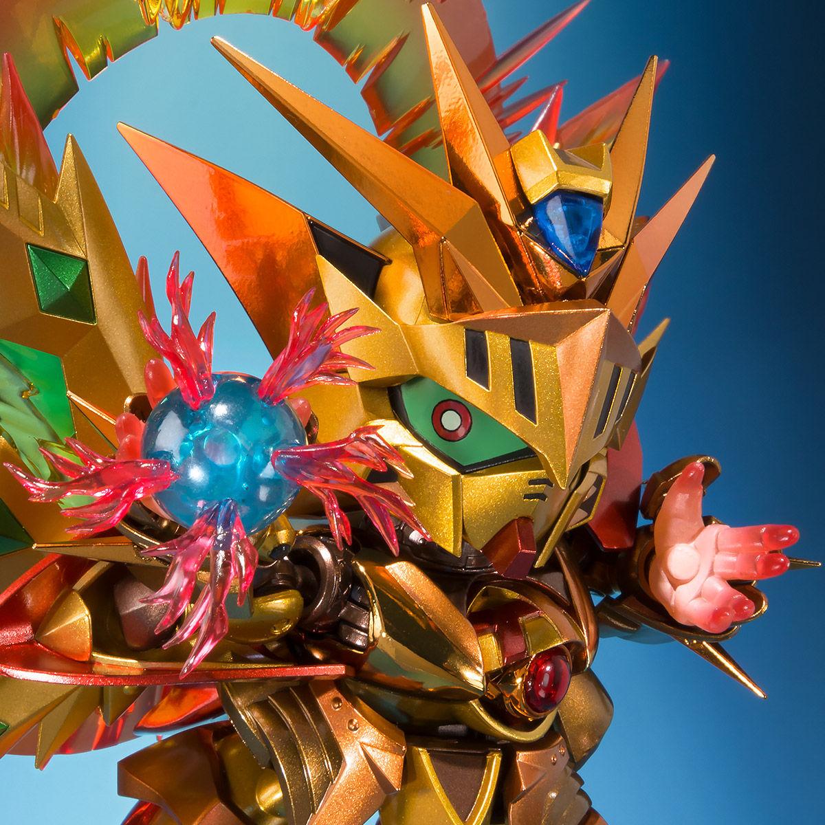 SDX『太陽騎士ゴッドガンダム 明鏡止水ゴールドバージョン』新SDガンダム外伝 可動フィギュア-001