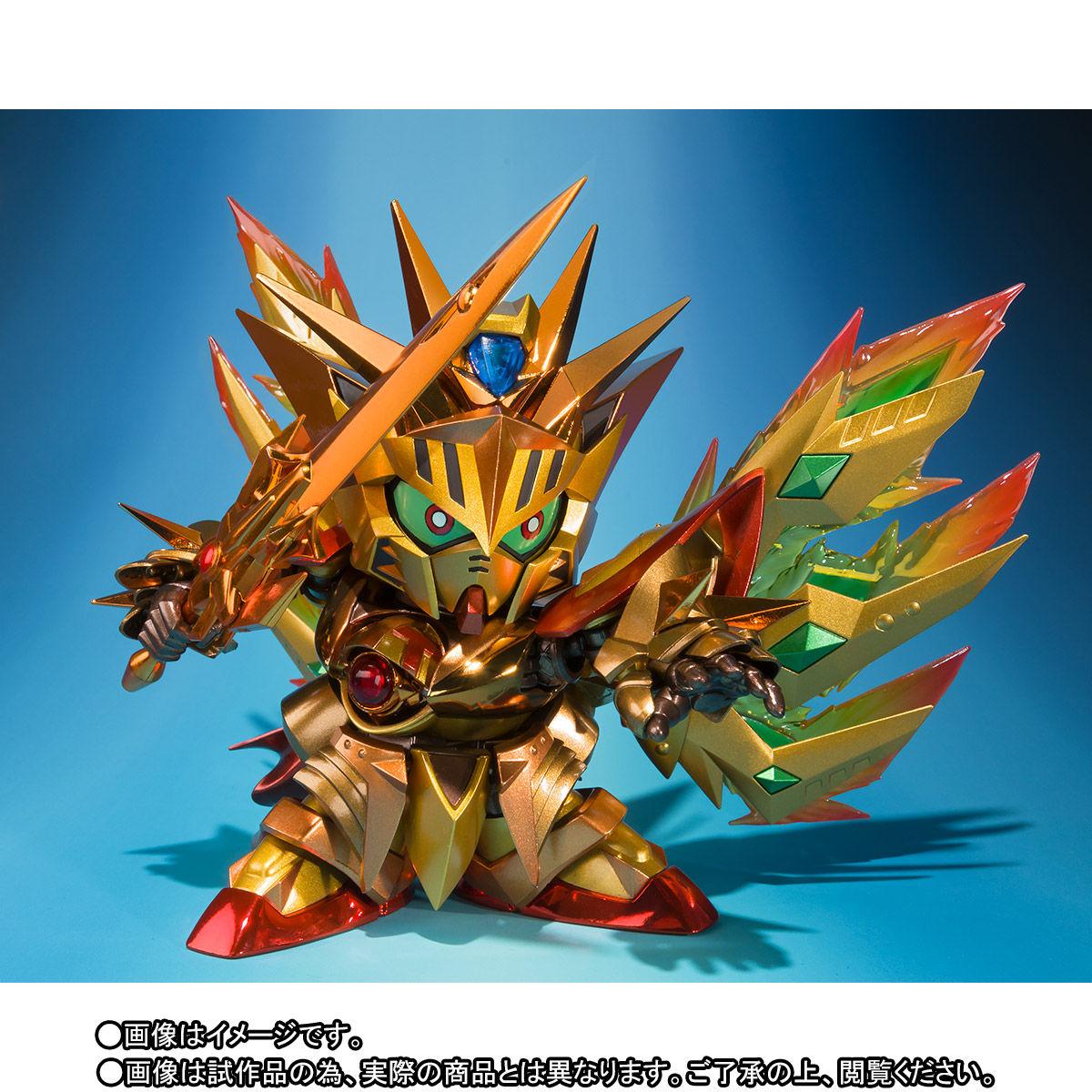 SDX『太陽騎士ゴッドガンダム 明鏡止水ゴールドバージョン』新SDガンダム外伝 可動フィギュア-003