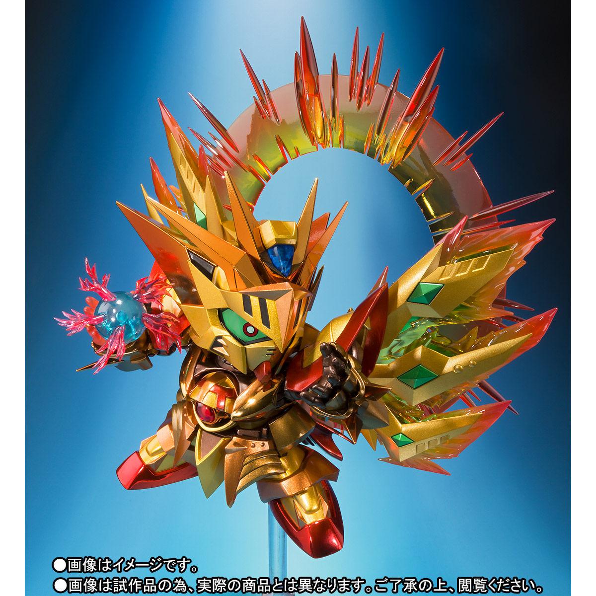 SDX『太陽騎士ゴッドガンダム 明鏡止水ゴールドバージョン』新SDガンダム外伝 可動フィギュア-004