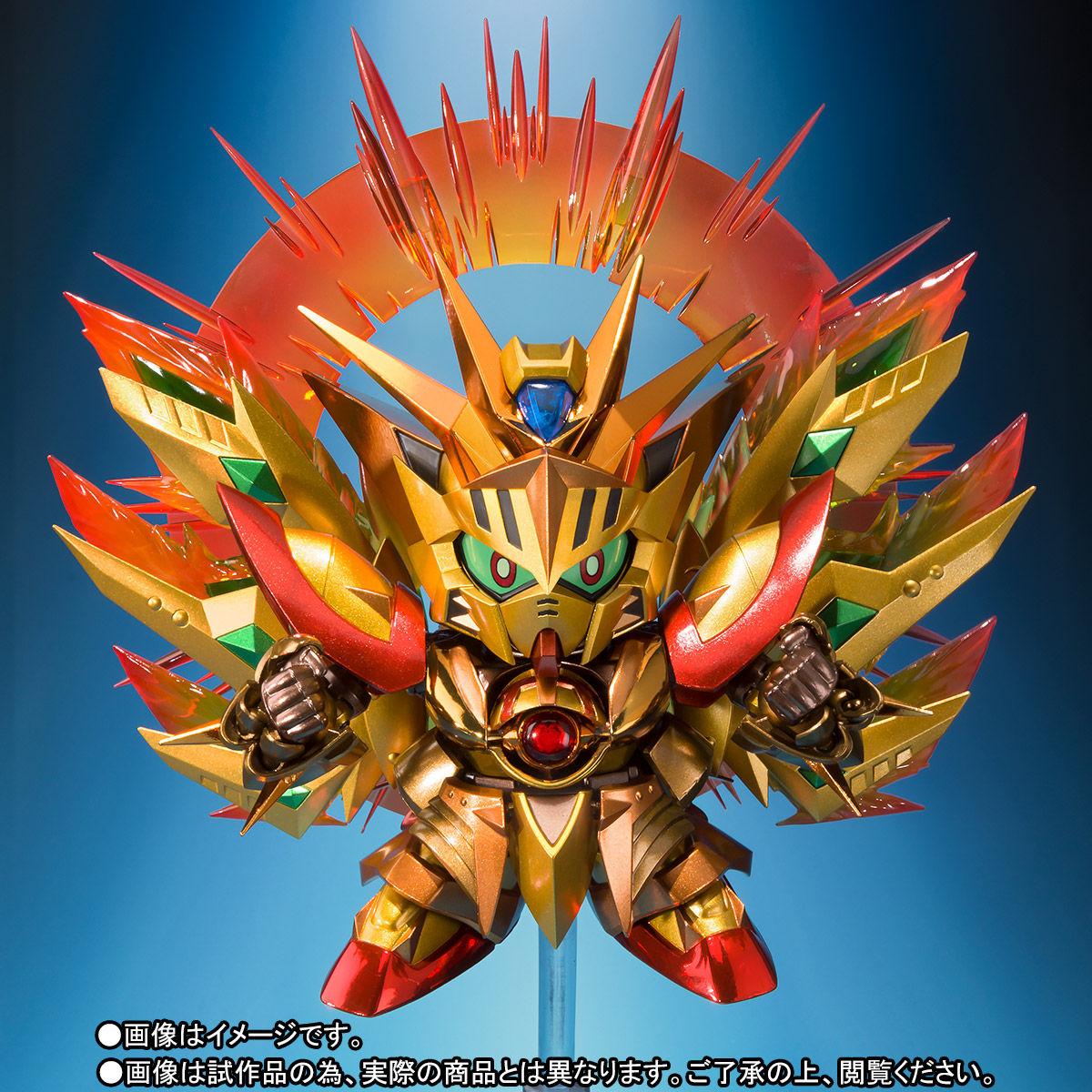 SDX『太陽騎士ゴッドガンダム 明鏡止水ゴールドバージョン』新SDガンダム外伝 可動フィギュア-005
