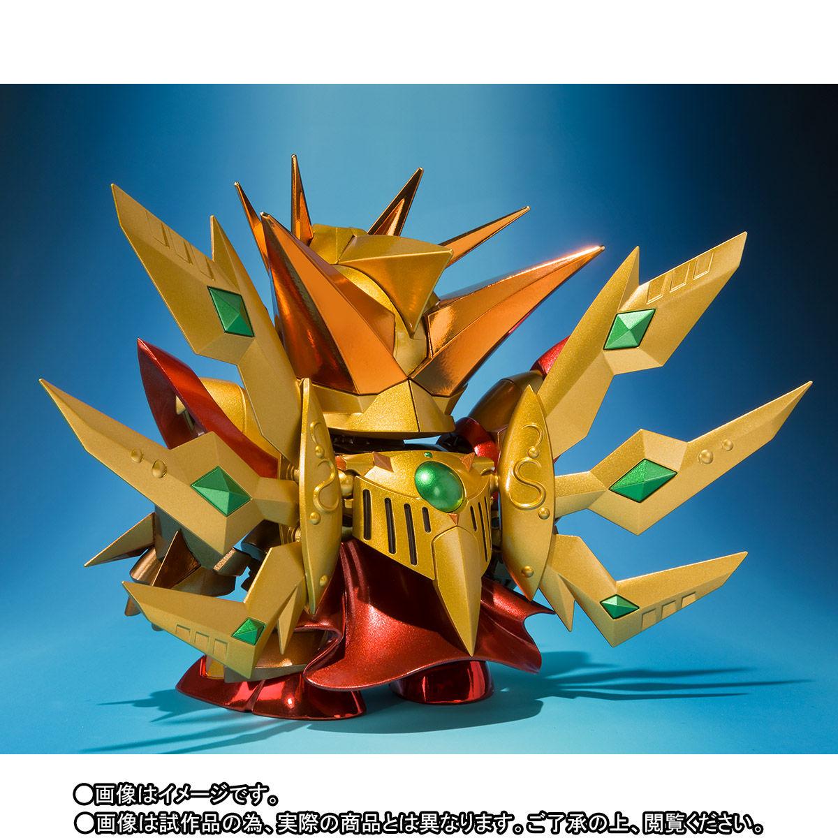 SDX『太陽騎士ゴッドガンダム 明鏡止水ゴールドバージョン』新SDガンダム外伝 可動フィギュア-006