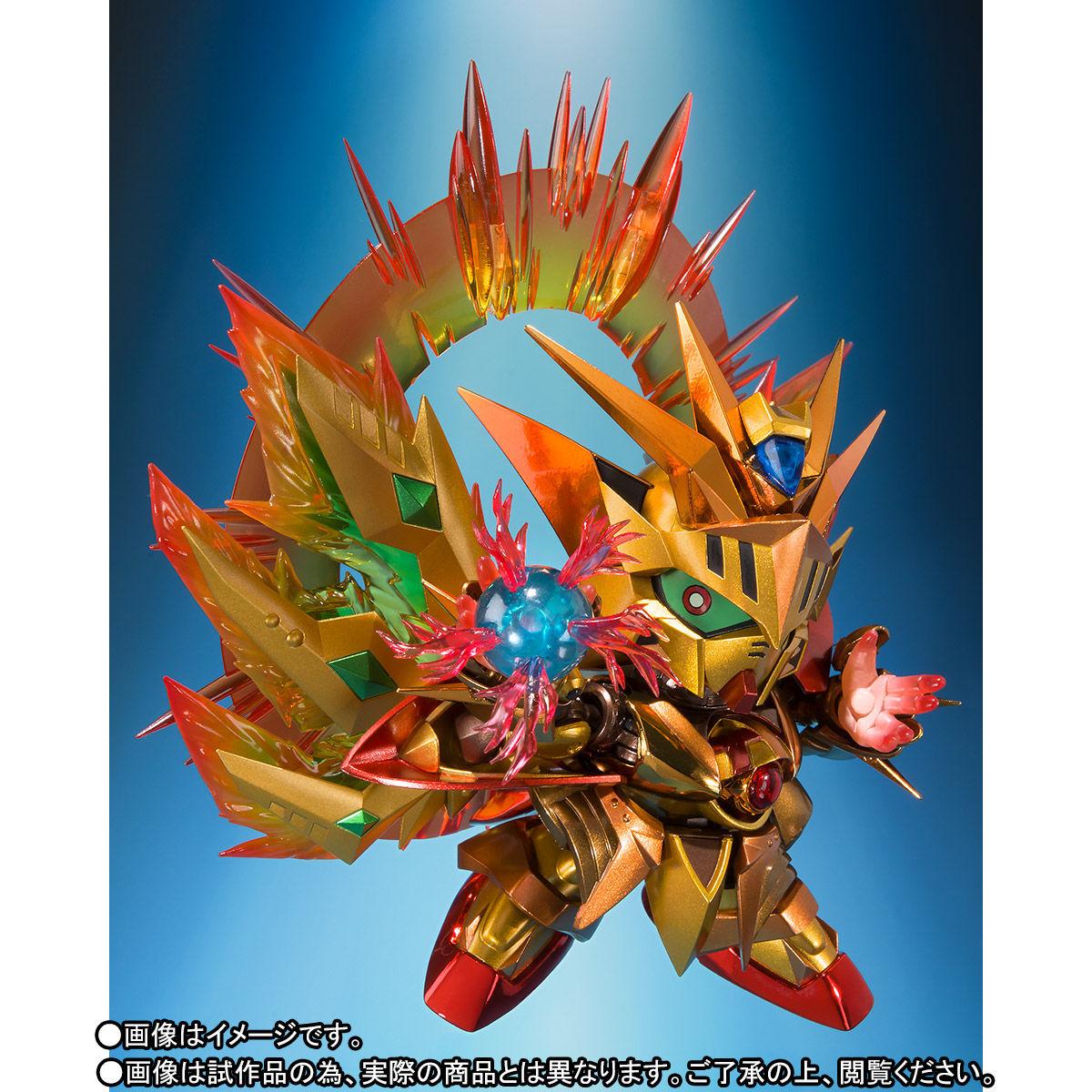 SDX『太陽騎士ゴッドガンダム 明鏡止水ゴールドバージョン』新SDガンダム外伝 可動フィギュア-010