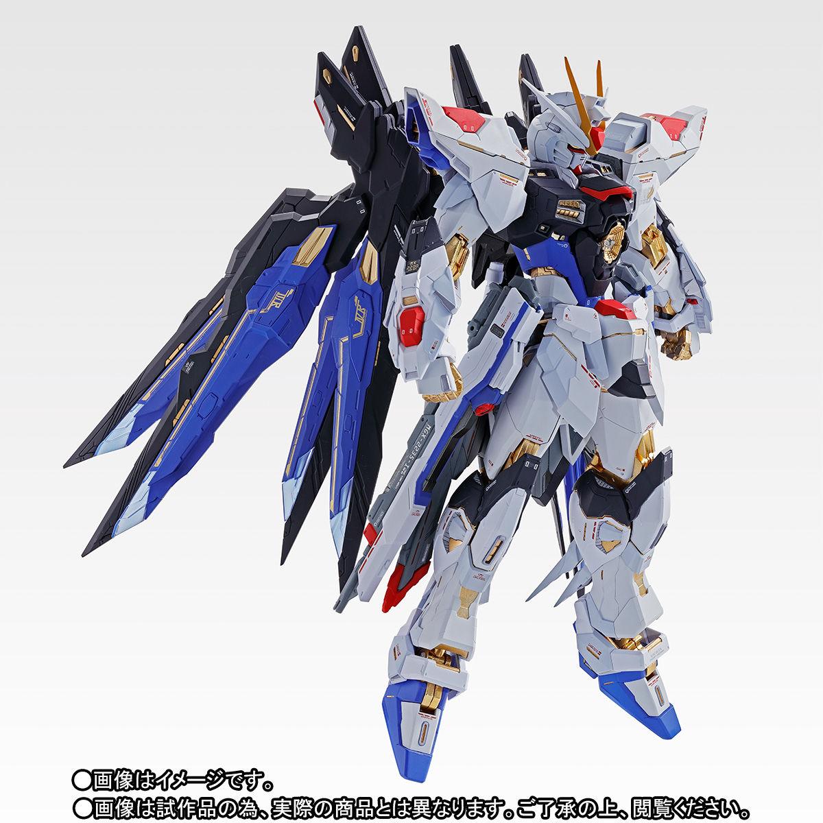 【抽選販売】METAL BUILD『ストライクフリーダムガンダム SOUL BLUE Ver.』機動戦士ガンダムSEED DESTINY 可動フィギュア-006