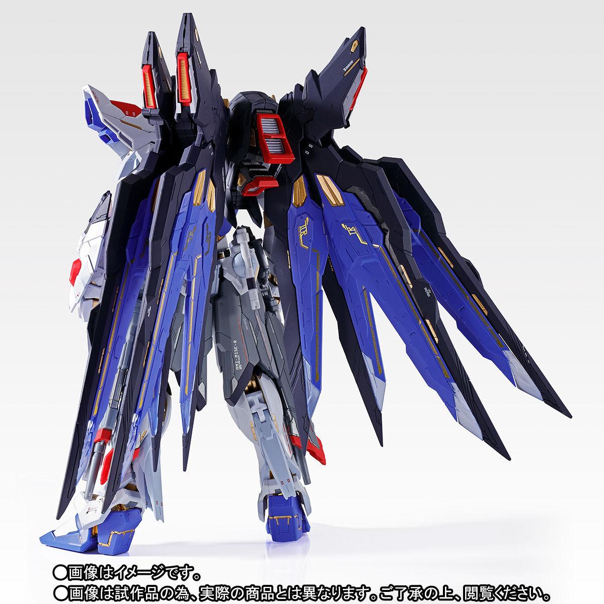 【抽選販売】METAL BUILD『ストライクフリーダムガンダム SOUL BLUE Ver.』機動戦士ガンダムSEED DESTINY 可動フィギュア-009
