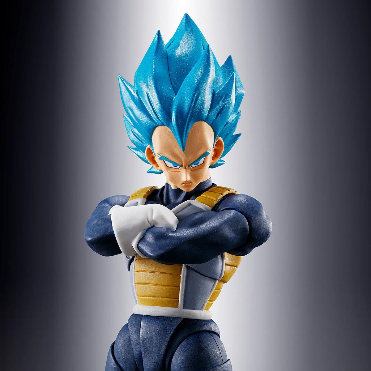 S.H.フィギュアーツ『スーパーサイヤ人ゴッドスーパーサイヤ人 ベジータ-超-』ドラゴンボール超 可動フィギュア-001