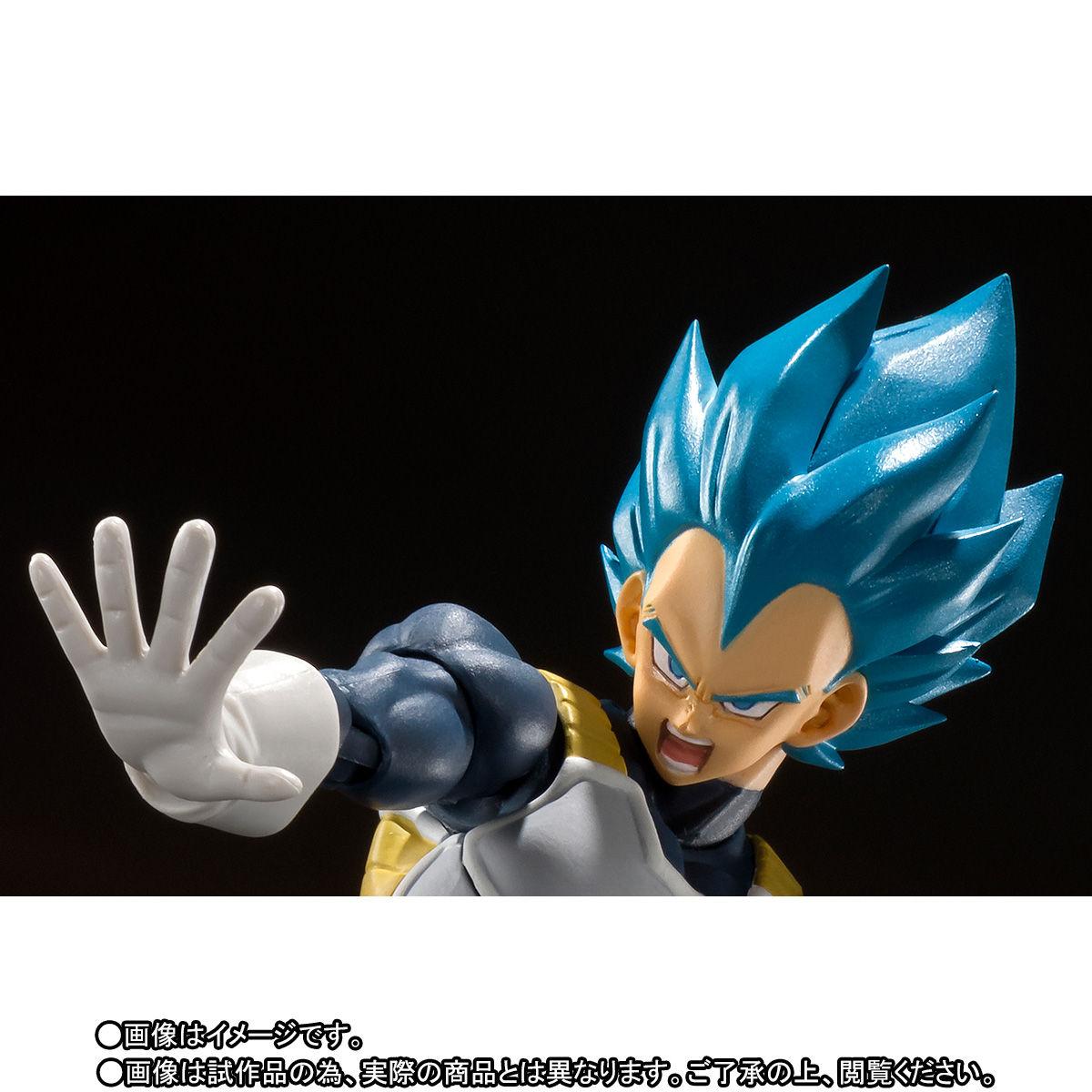 S.H.フィギュアーツ『スーパーサイヤ人ゴッドスーパーサイヤ人 ベジータ-超-』ドラゴンボール超 可動フィギュア-002