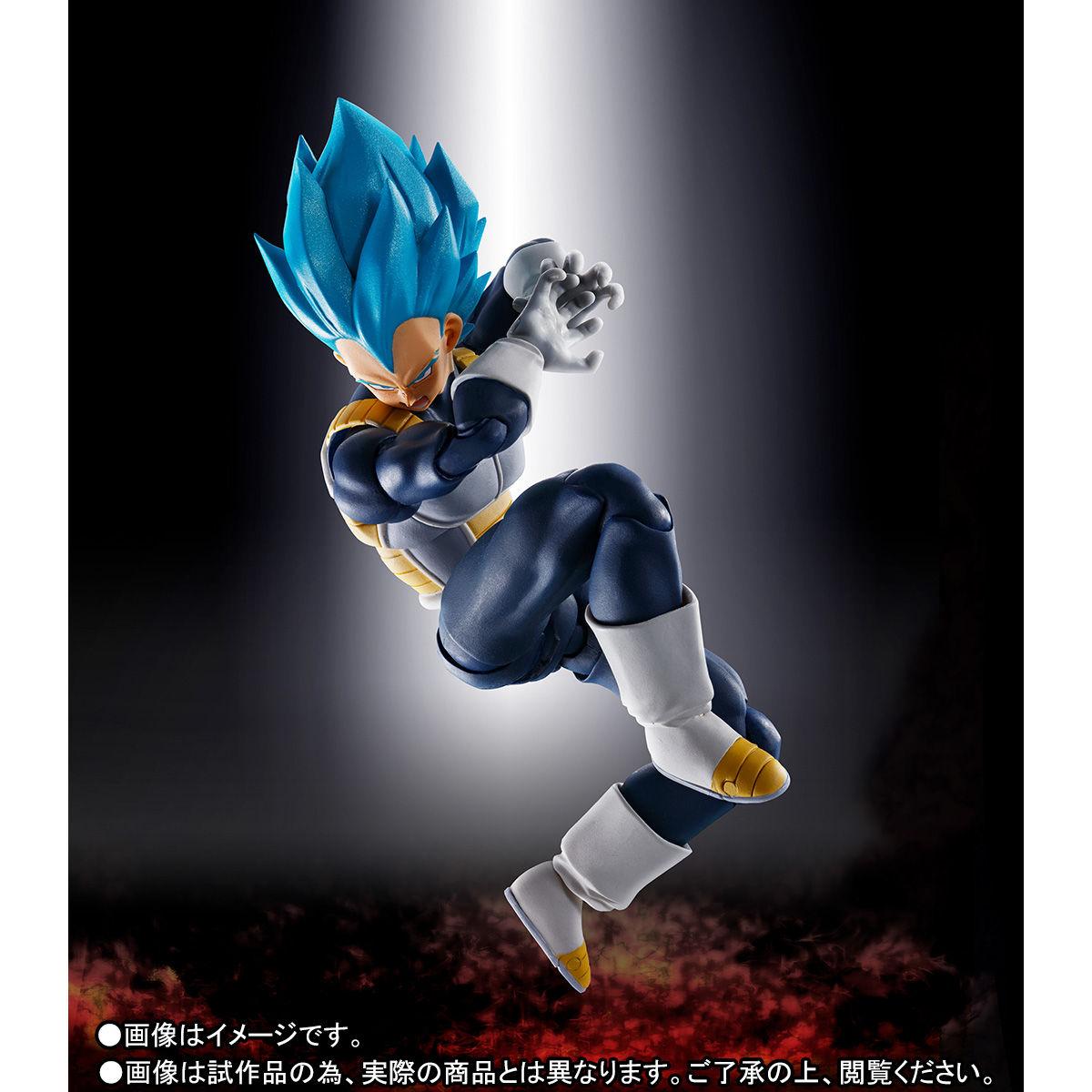 S.H.フィギュアーツ『スーパーサイヤ人ゴッドスーパーサイヤ人 ベジータ-超-』ドラゴンボール超 可動フィギュア-003