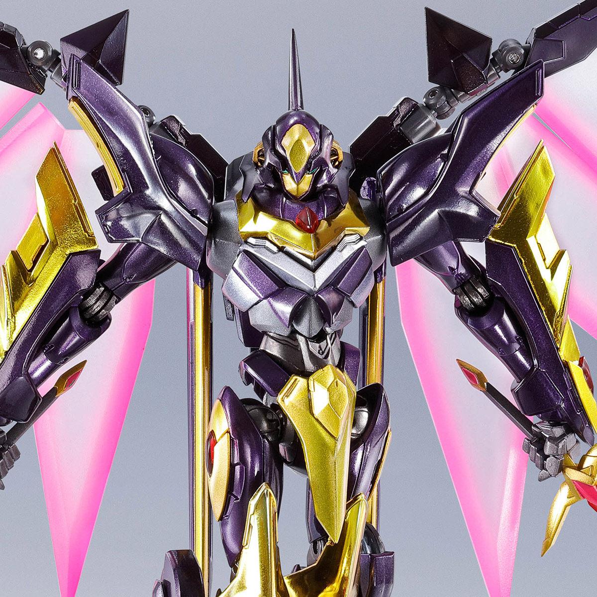 METAL ROBOT魂〈SIDE KMF〉『ランスロット・アルビオン ゼロ』コードギアス 可動フィギュア-001