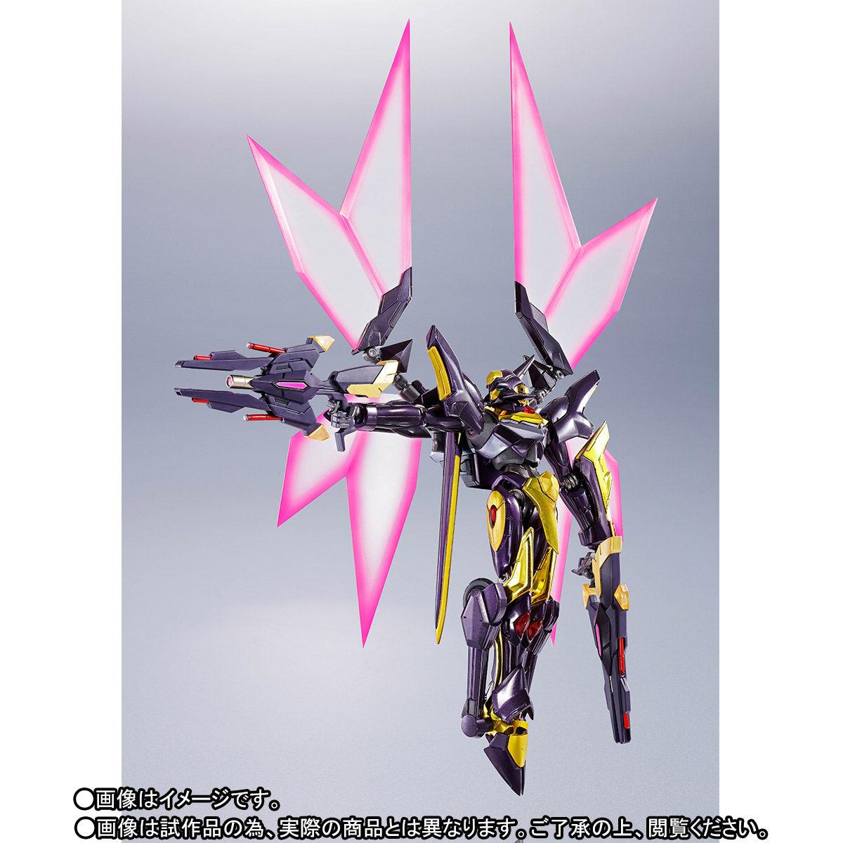 METAL ROBOT魂〈SIDE KMF〉『ランスロット・アルビオン ゼロ』コードギアス 可動フィギュア-003