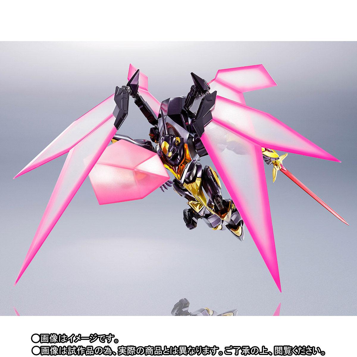METAL ROBOT魂〈SIDE KMF〉『ランスロット・アルビオン ゼロ』コードギアス 可動フィギュア-004