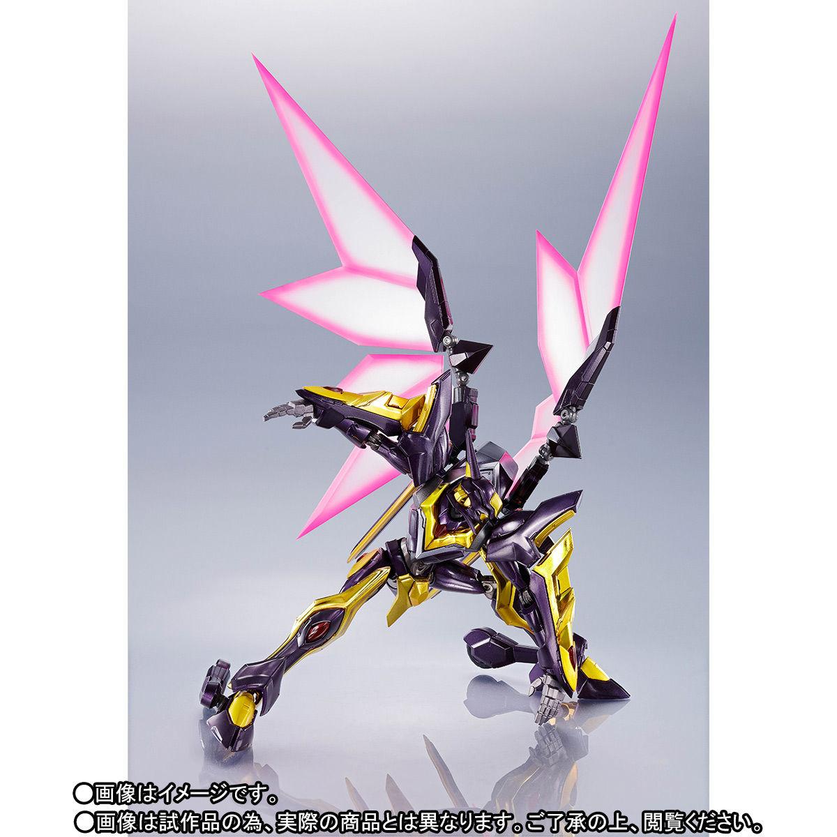 METAL ROBOT魂〈SIDE KMF〉『ランスロット・アルビオン ゼロ』コードギアス 可動フィギュア-006