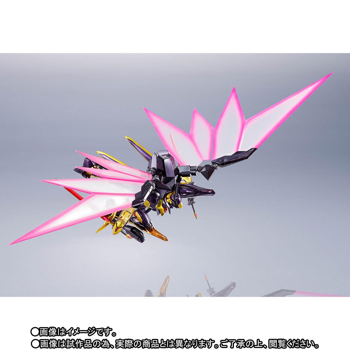 METAL ROBOT魂〈SIDE KMF〉『ランスロット・アルビオン ゼロ』コードギアス 可動フィギュア-007