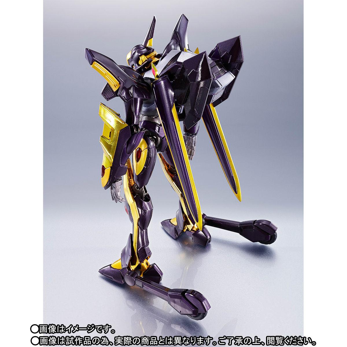 METAL ROBOT魂〈SIDE KMF〉『ランスロット・アルビオン ゼロ』コードギアス 可動フィギュア-009