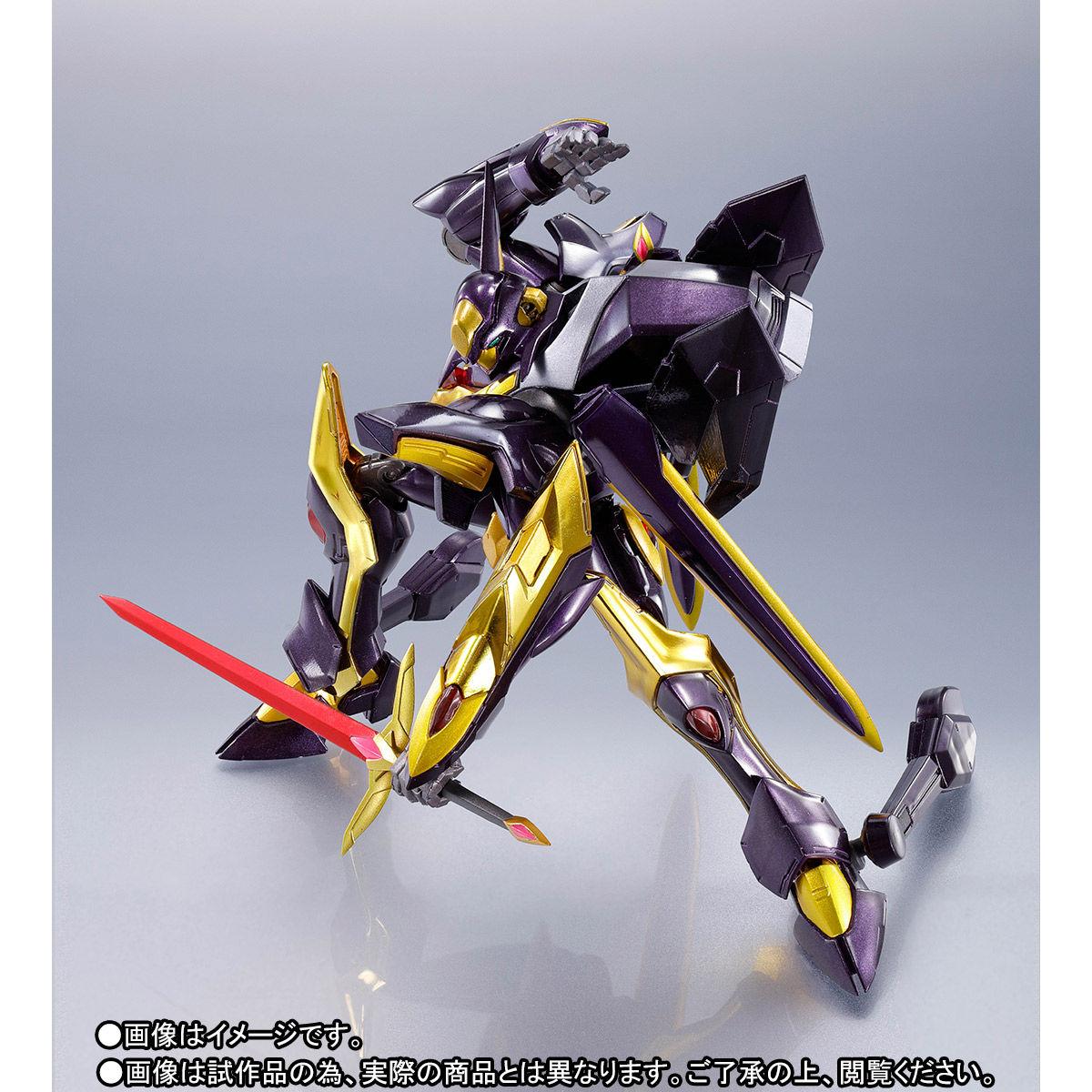 METAL ROBOT魂〈SIDE KMF〉『ランスロット・アルビオン ゼロ』コードギアス 可動フィギュア-010