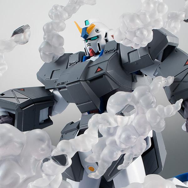 ROBOT魂〈SIDE MS〉『RX-78NT-1FA ガンダムNT-1 ver. A.N.I.M.E. ~チョバム・アーマー装備~』機動戦士ガンダム0080 ポケットの中の戦争 可動フィギュア