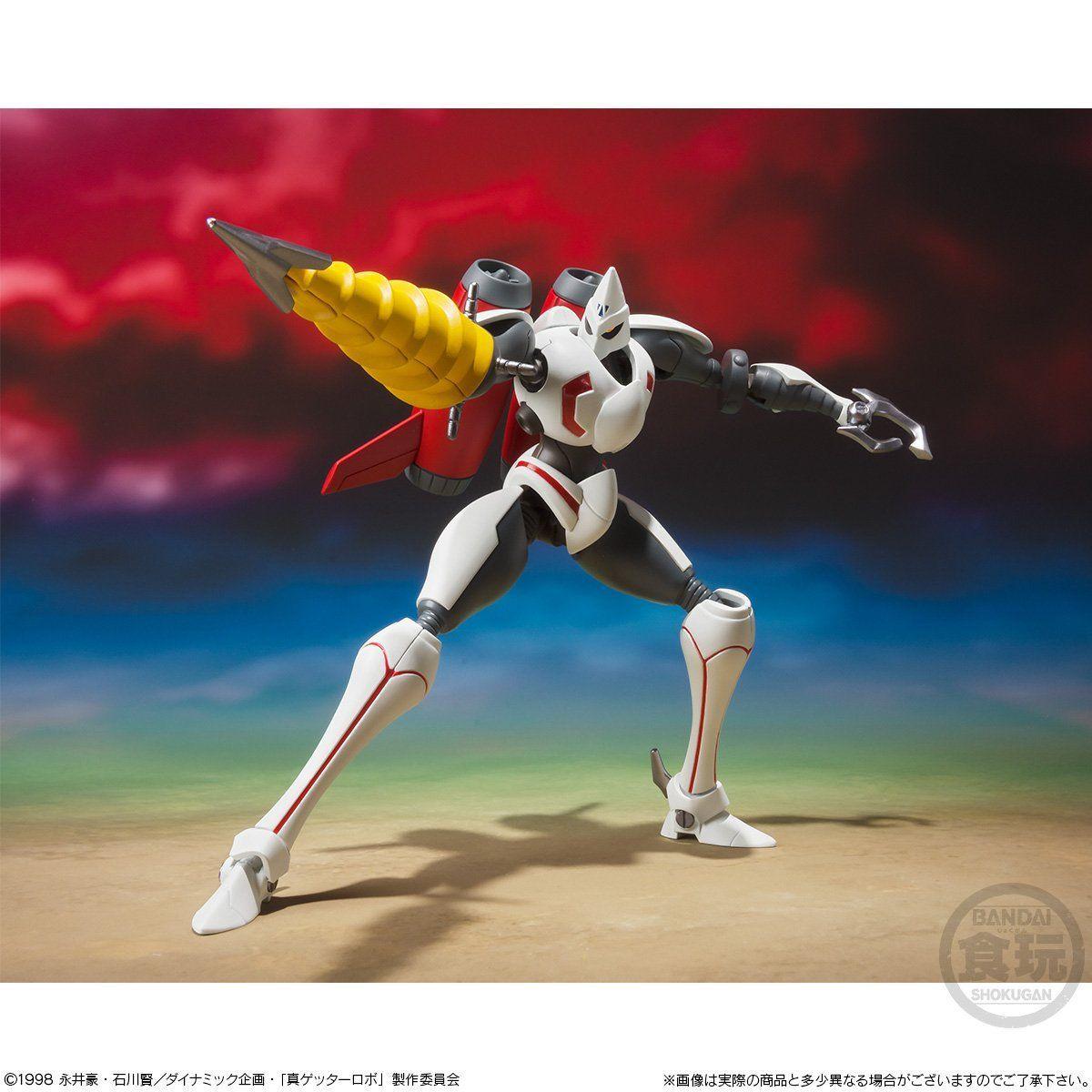 【食玩】スーパーミニプラ『真(チェンジ!!)ゲッターロボ Vol.4』プラモデル-002