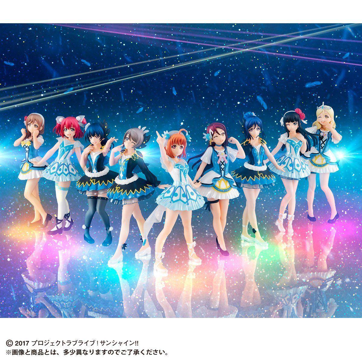Gasha Portraits『ラブライブ!サンシャイン!! ~WATER BLUE NEW WORLD SET~』セット-002