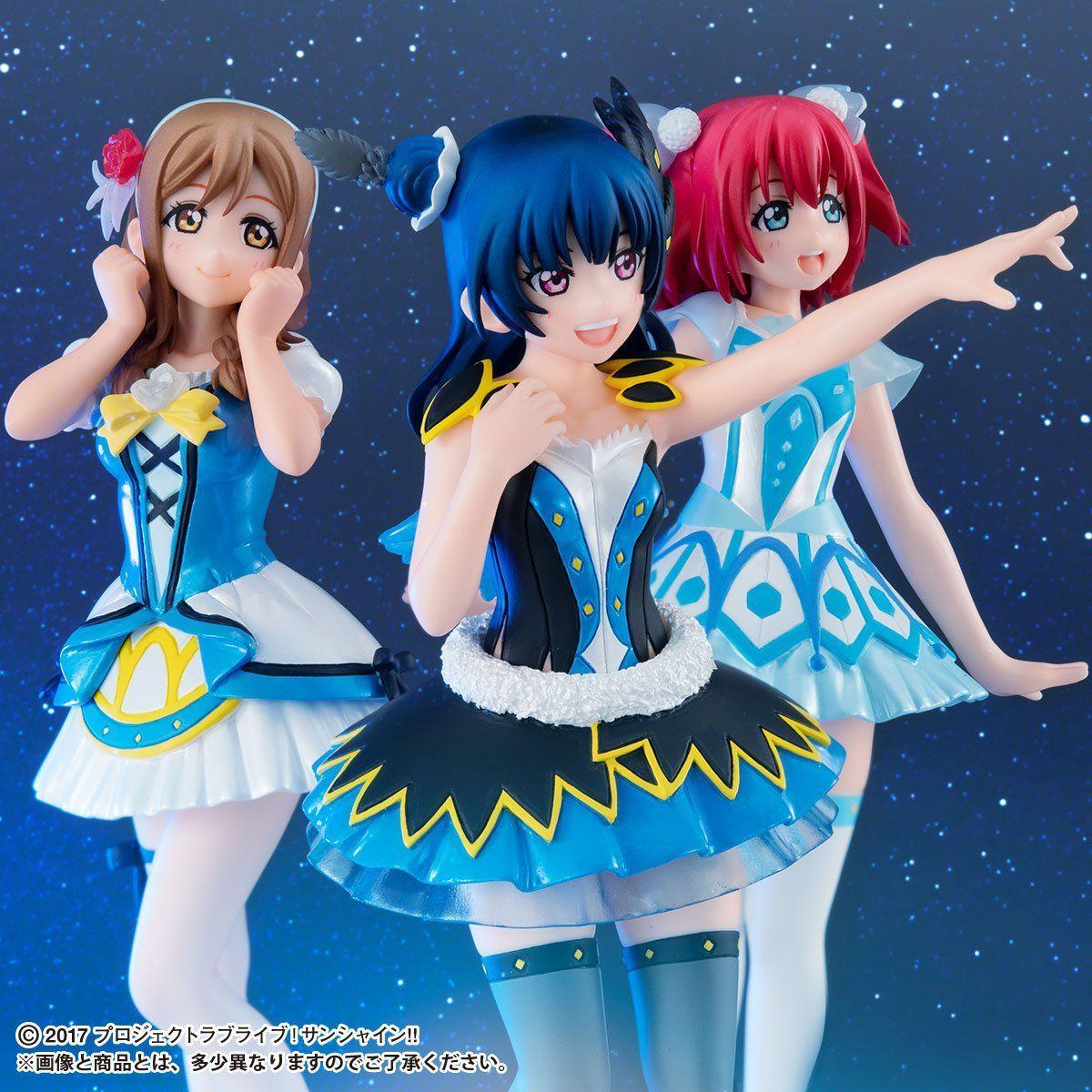 Gasha Portraits『ラブライブ!サンシャイン!! ~WATER BLUE NEW WORLD SET~』セット-006