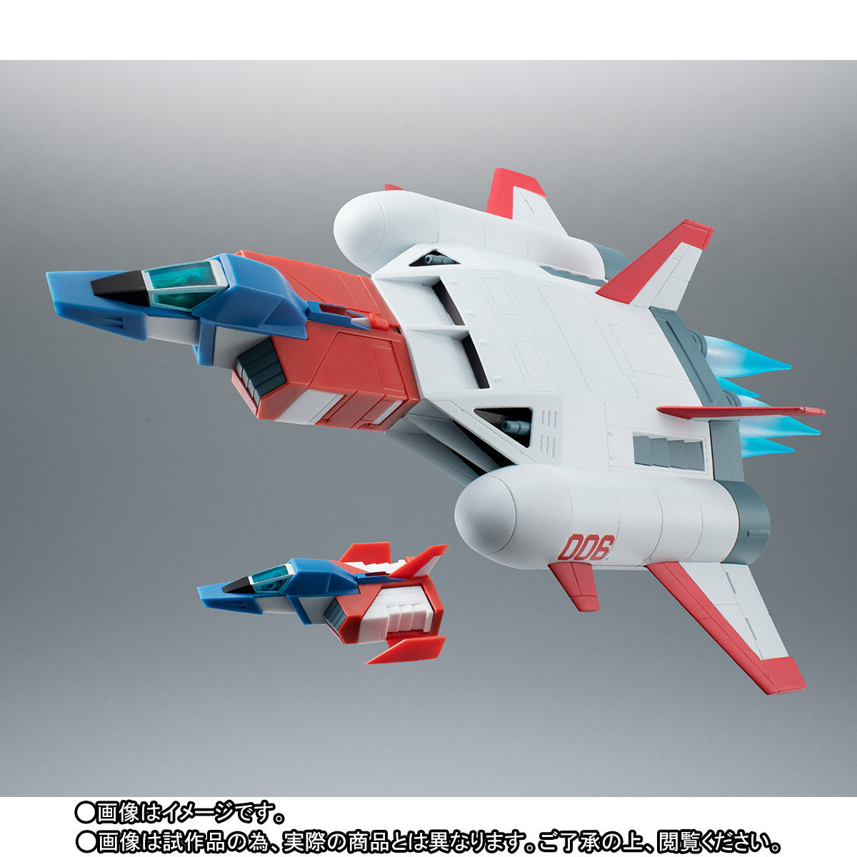 ROBOT魂〈SIDE MS〉『FF-X7-Bst コア・ブースター 2機セット ver. A.N.I.M.E. ~スレッガー005 & セイラ006~』機動戦士ガンダム 可動フィギュア-002