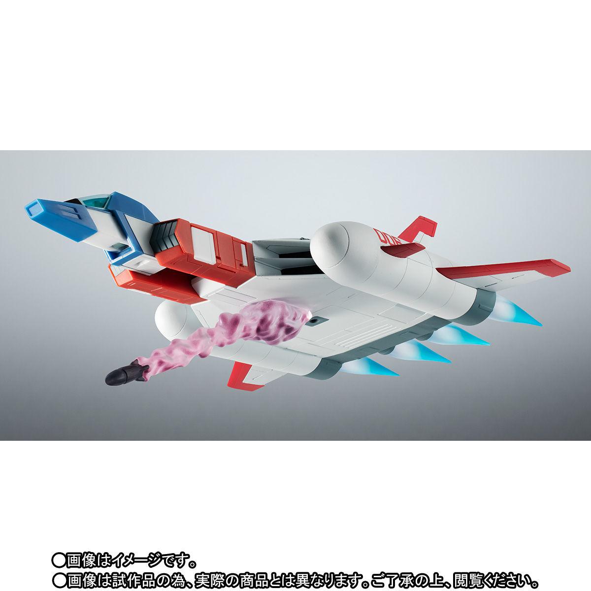 ROBOT魂〈SIDE MS〉『FF-X7-Bst コア・ブースター 2機セット ver. A.N.I.M.E. ~スレッガー005 & セイラ006~』機動戦士ガンダム 可動フィギュア-003