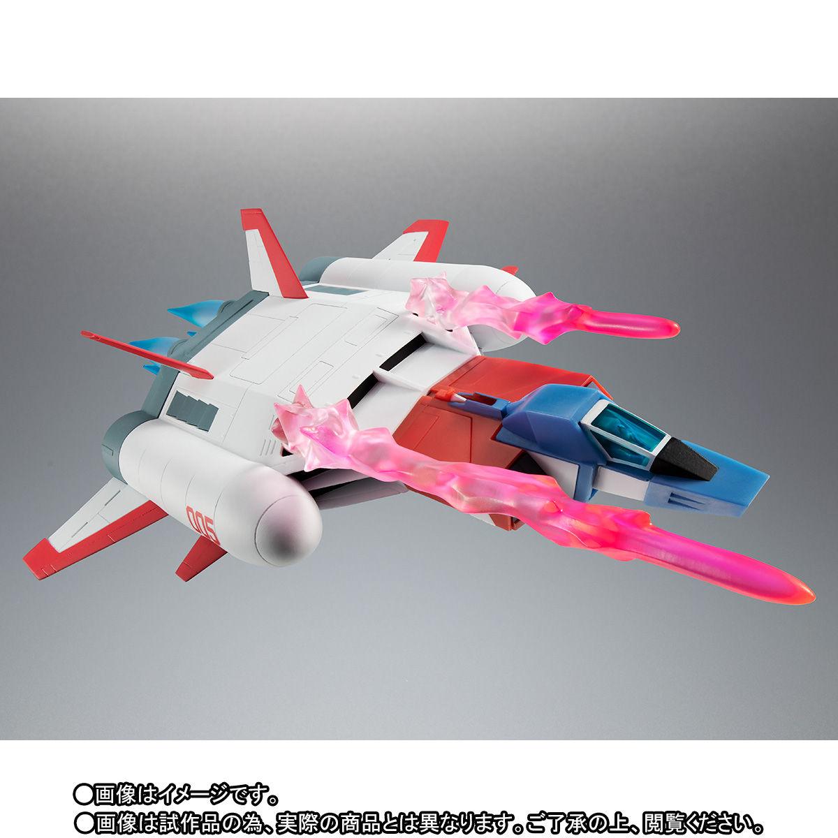 ROBOT魂〈SIDE MS〉『FF-X7-Bst コア・ブースター 2機セット ver. A.N.I.M.E. ~スレッガー005 & セイラ006~』機動戦士ガンダム 可動フィギュア-004