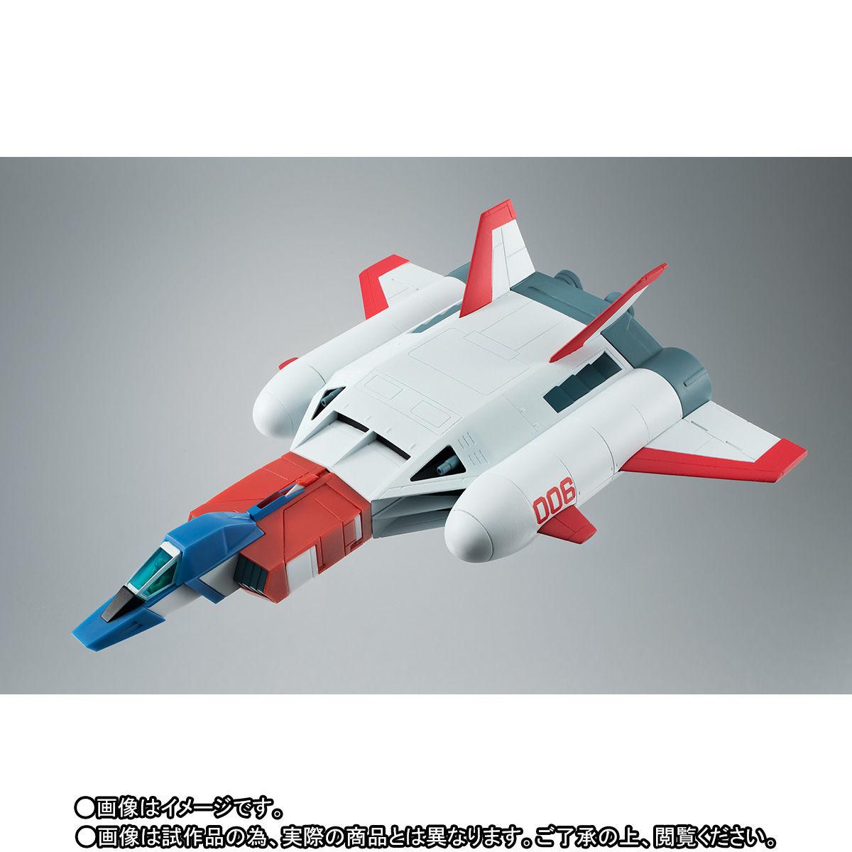 ROBOT魂〈SIDE MS〉『FF-X7-Bst コア・ブースター 2機セット ver. A.N.I.M.E. ~スレッガー005 & セイラ006~』機動戦士ガンダム 可動フィギュア-007