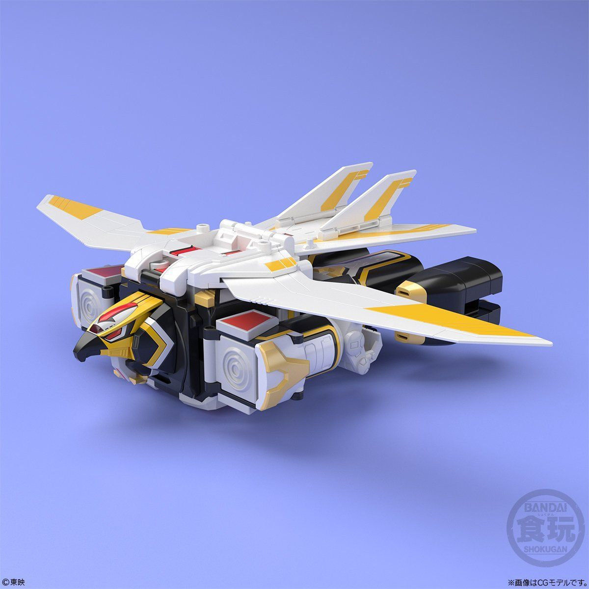 【食玩】スーパーミニプラ『超弩級 ジェットガルーダ』鳥人戦隊ジェットマン プラモデル-002