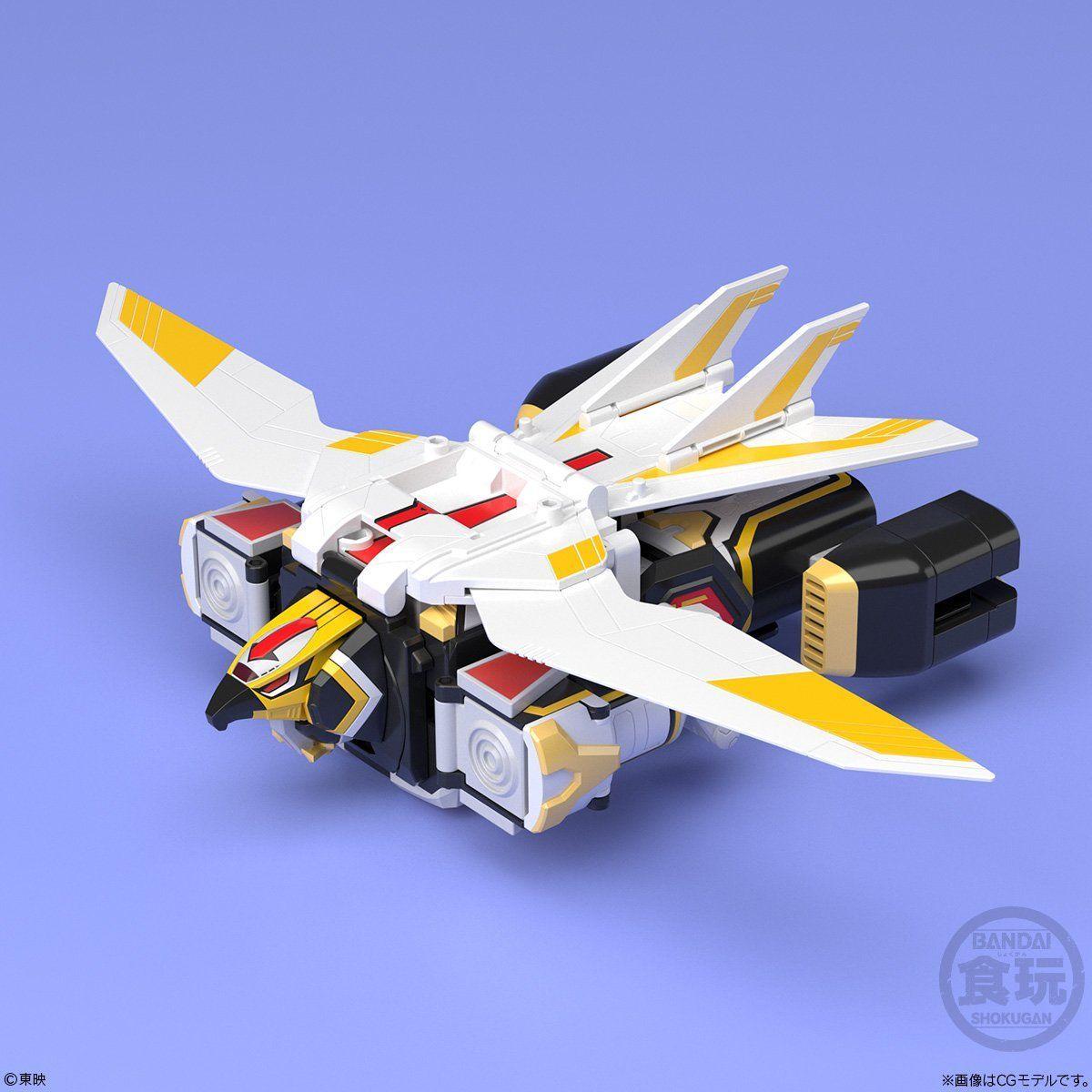 【食玩】スーパーミニプラ『超弩級 ジェットガルーダ』鳥人戦隊ジェットマン プラモデル-003
