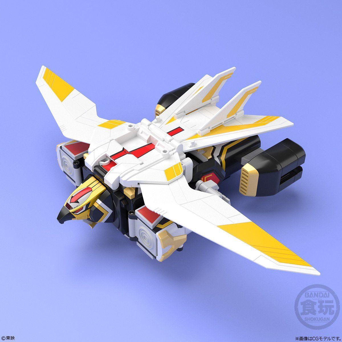 【食玩】スーパーミニプラ『超弩級 ジェットガルーダ』鳥人戦隊ジェットマン プラモデル-004