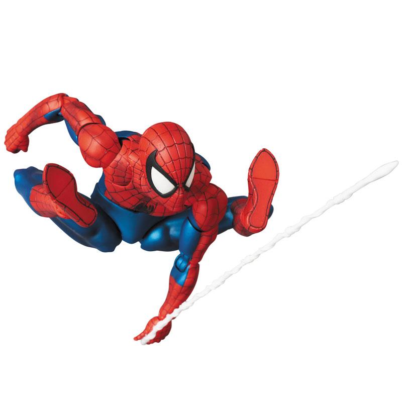 【再販】マフェックス No.075 MAFEX『SPIDER-MAN(COMIC Ver.)』スパイダーマン 可動フィギュア-001