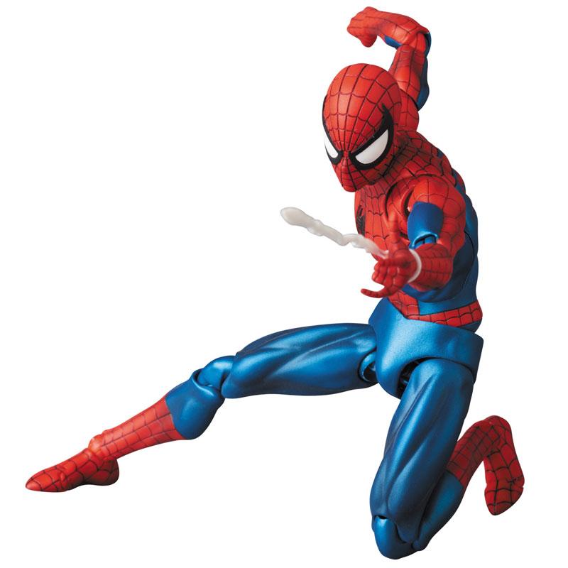 【再販】マフェックス No.075 MAFEX『SPIDER-MAN(COMIC Ver.)』スパイダーマン 可動フィギュア-002