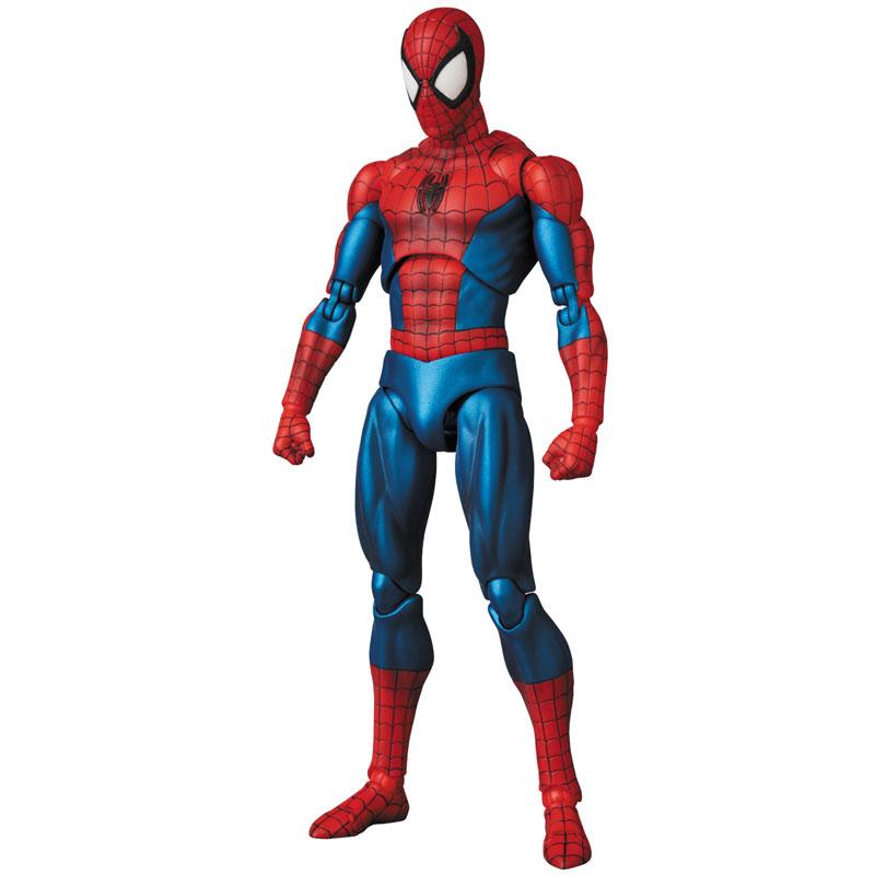 【再販】マフェックス No.075 MAFEX『SPIDER-MAN(COMIC Ver.)』スパイダーマン 可動フィギュア-003
