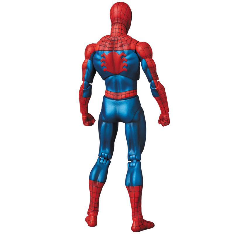 【再販】マフェックス No.075 MAFEX『SPIDER-MAN(COMIC Ver.)』スパイダーマン 可動フィギュア-004