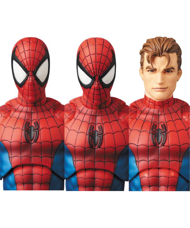 【再販】マフェックス No.075 MAFEX『SPIDER-MAN(COMIC Ver.)』スパイダーマン 可動フィギュア-005