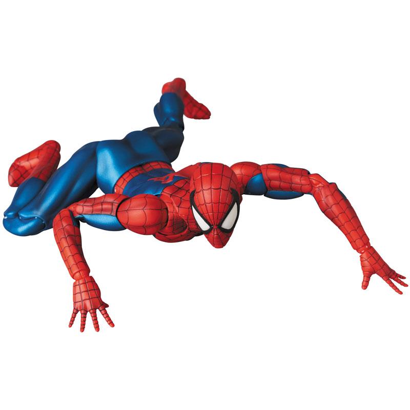 【再販】マフェックス No.075 MAFEX『SPIDER-MAN(COMIC Ver.)』スパイダーマン 可動フィギュア-006